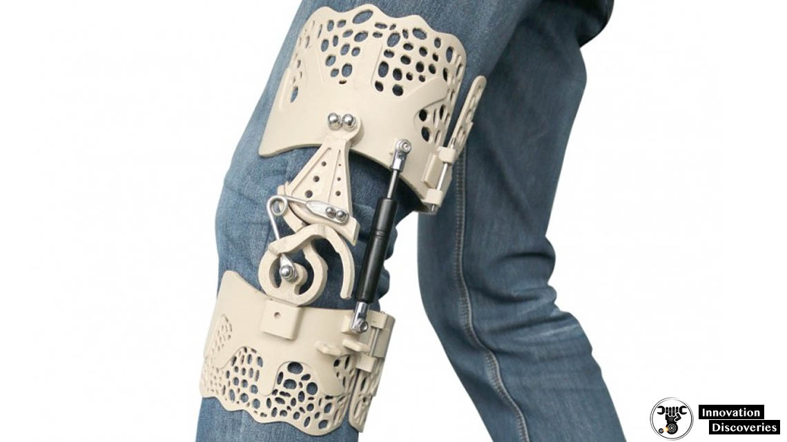 These 3D-Printed Exoskeleton Knee Braces Will Help People With Knee Disabilities | Innovation Discoveries