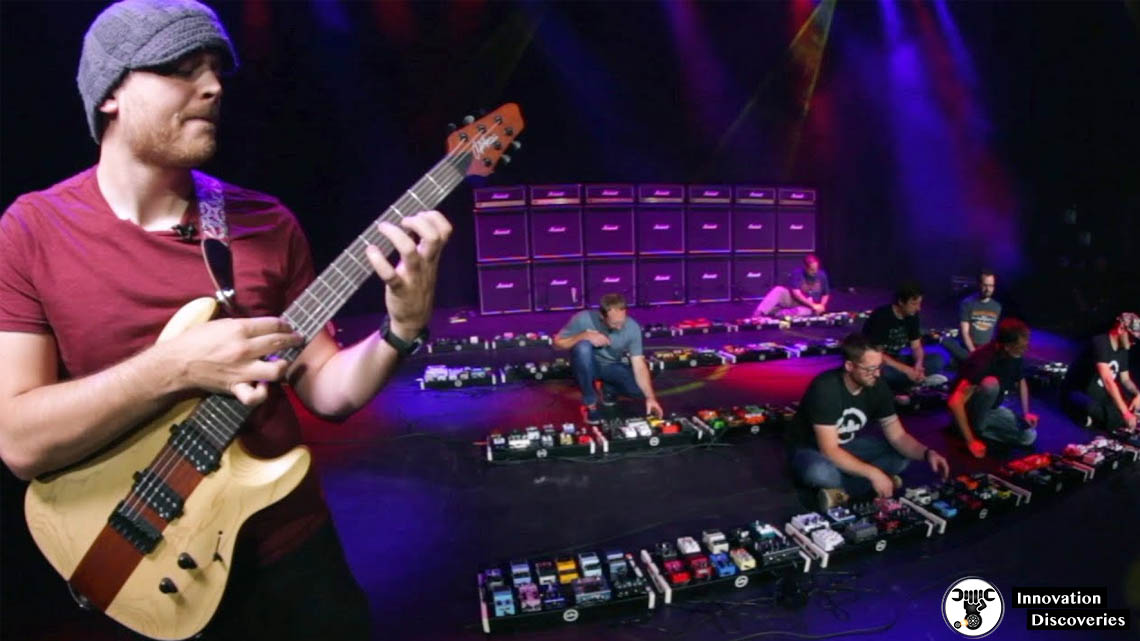 This Is The World's Largest Guitar Pedalboard Ever | Innovation Discoveries