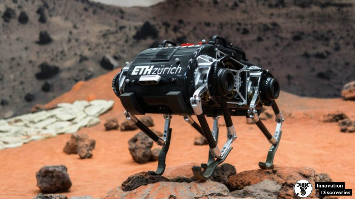 SpaceBok Robot Jumps Around To Travel In Low-Gravity Environments | Innovation Discoveries