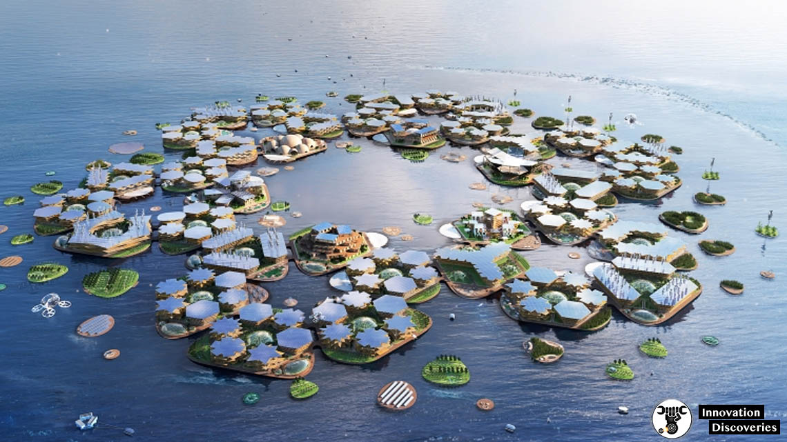 The Oceanix City Project Is A Floating City Concept That Is Climate-Proof And Has The Support Of UN | Innovation Discoveries