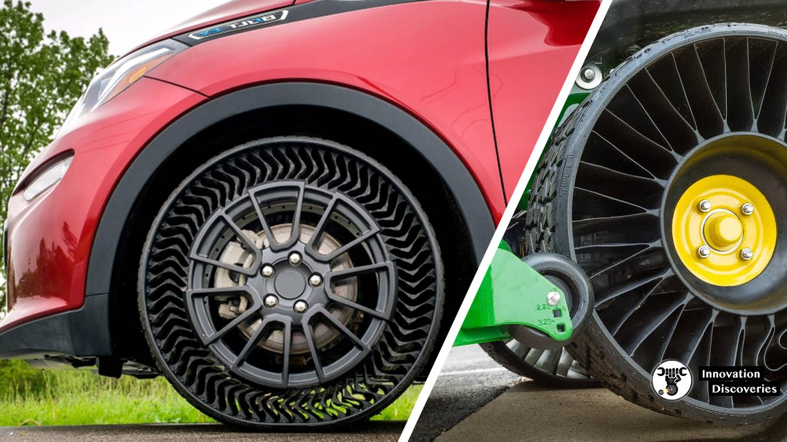 How the Tweel Airless Tire Works | Innovation Discoveries