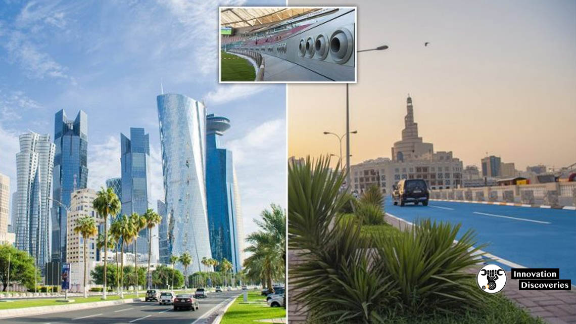Qatar Is Now Air-Conditioning Its Outdoors Because Of The Heat | Innovation Discoveries