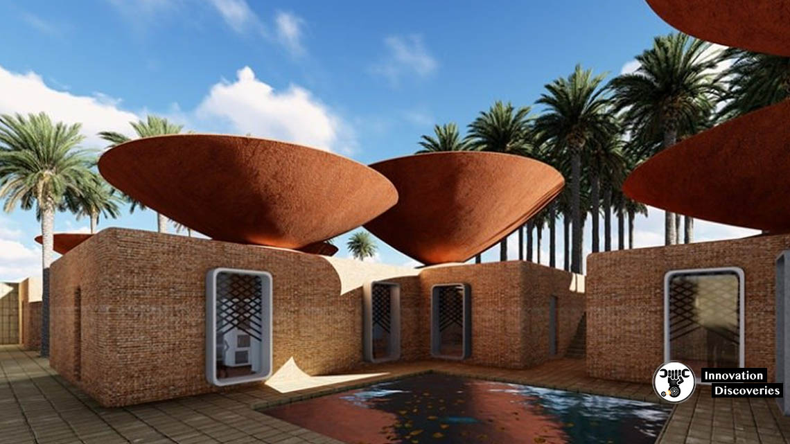 Concave Roof Collects Rain Water And Also Keeps Your House Cool | Innovation Discoveries