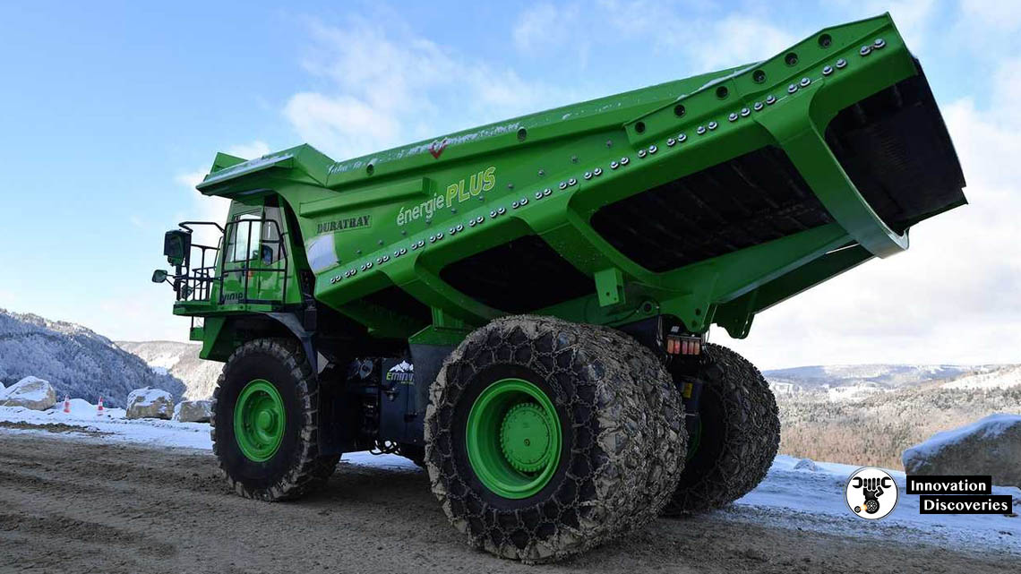 This Dirt Dumper Is The World's Largest Electric Vehicle And Doesn't Need To Be Charged | Innovation Discoveries