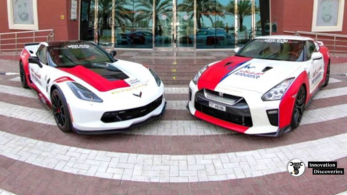 3 new supercars join Dubai Ambulance  | Innovation Discoveries