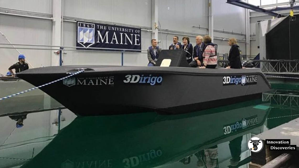 World's Largest 3D Printer Was Used For Printing This Boat By University Of Maine | Innovation Discoveries