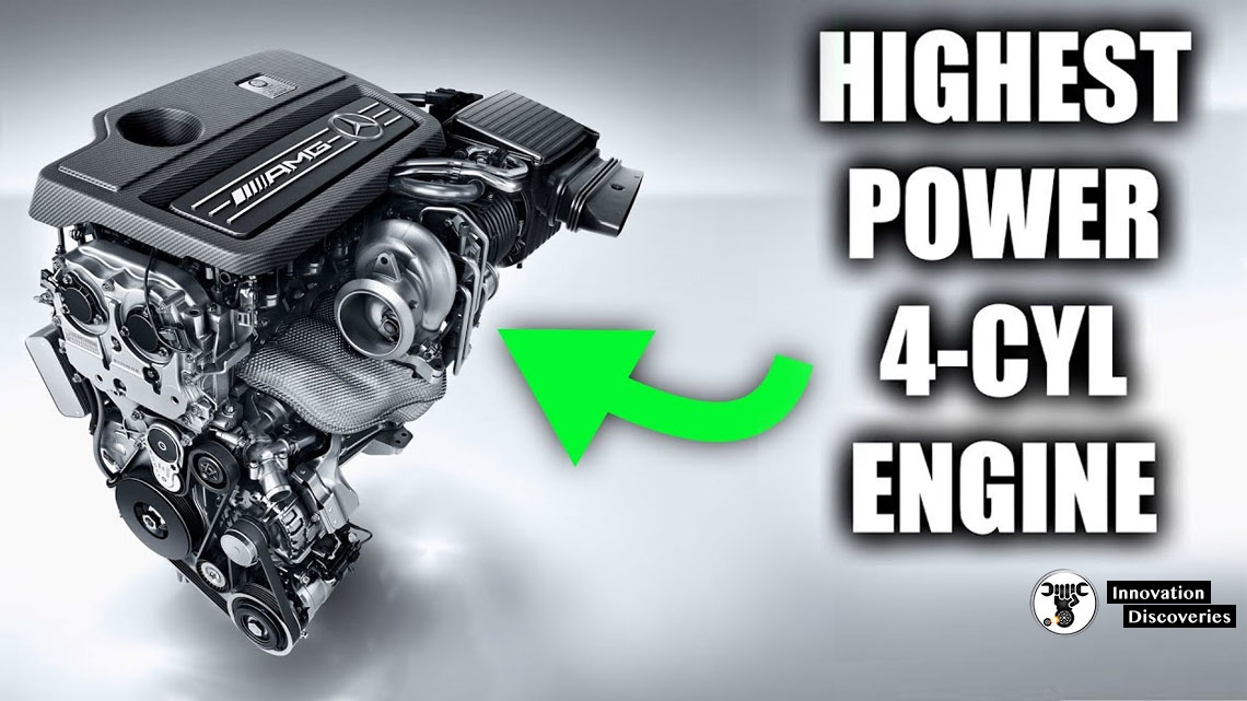 This Is How Mercedes Created The Most Powerful 4-Cylinder Engine In The World | Innovation Discoveries