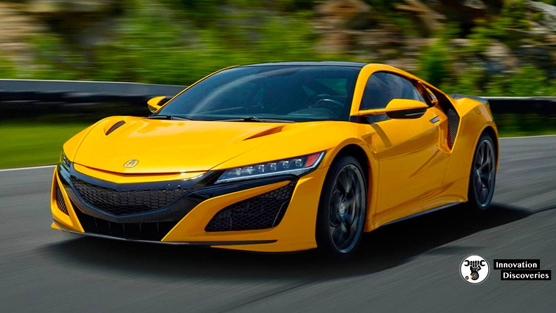 "The 2020 Acura NSX Now Comes in Heritage Indy Yellow Pearl Inspired by the first-gen NSX's ""Spa"" and ""Rio"" yellow hues"
