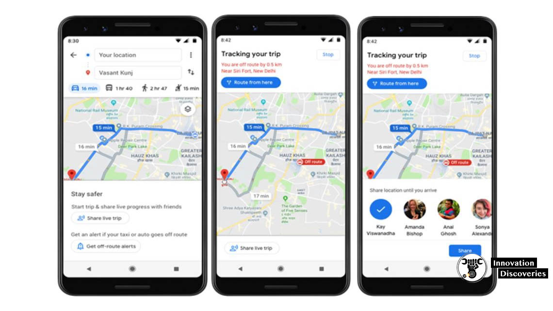 New Safety Feature In Google Maps Will Prevent Taxi Kidnappings