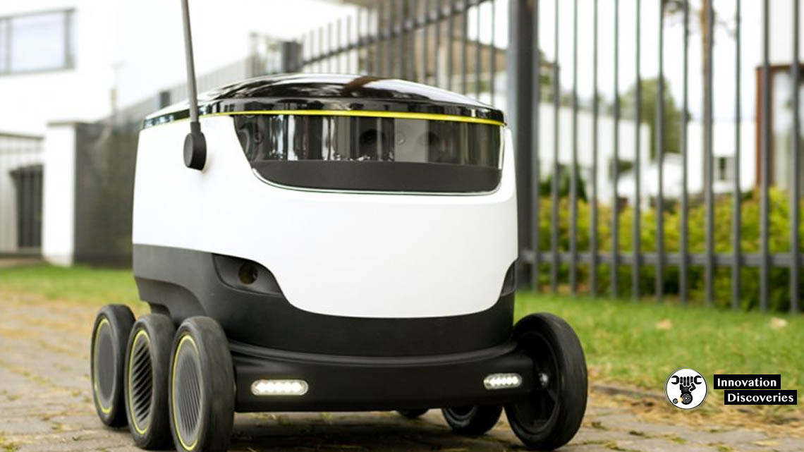 These Robots Will Deliver Your Ordered Food In 100 US Universities | Innovation Discoveries