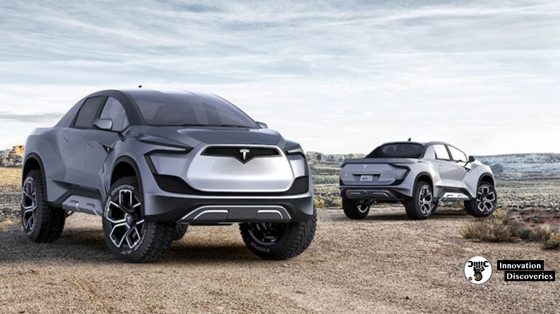 Designer Unveils Concept Of New Tesla Electric Pickup And Its Breathtaking | Innovation Discoveries