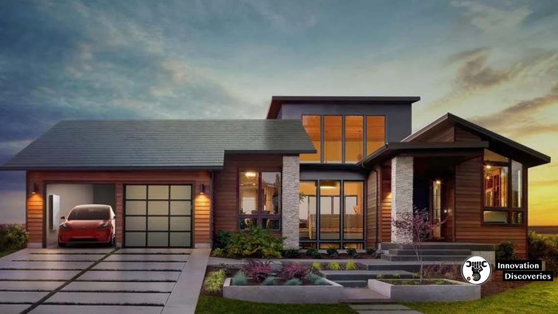 Tesla Unveils New Version Of Solar Roof Tiles