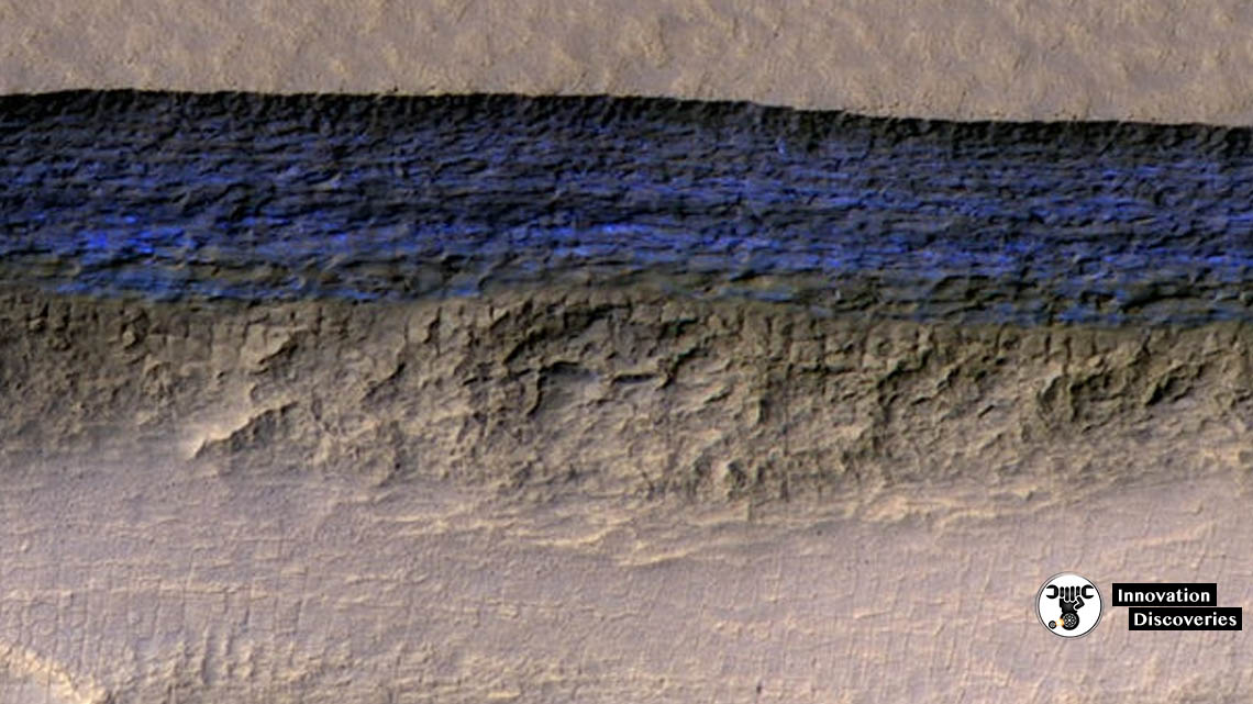 Underground Ice Sheets On Mars Could Solve The Water Problem For Future Settlers | Innovation Discoveries