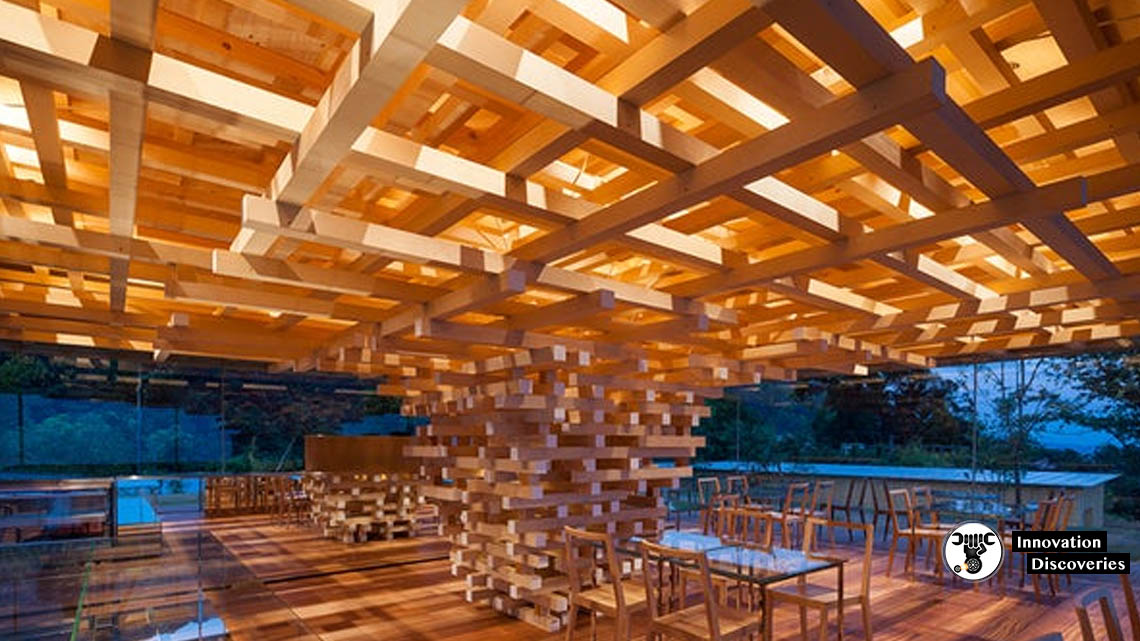 This Tree-Like Cafe In Japan Is Made Completely Out Of Wood | Innovation Discoveries
