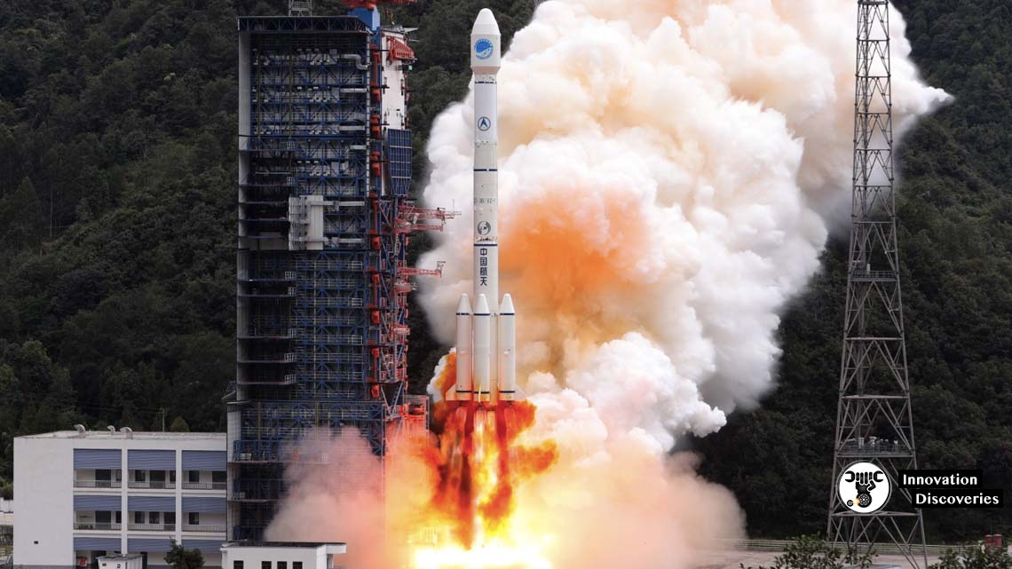 Chinese Launch Of Long March 3B Space Rocket Didn't Go As Planned And Destroys Homes