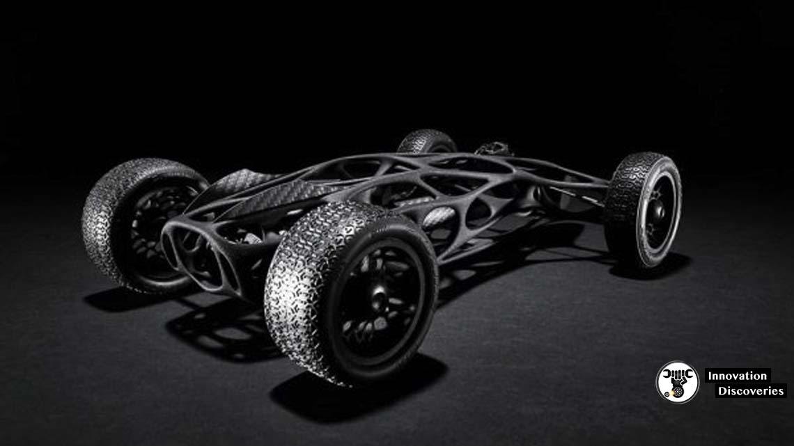 This 3D Printed High-Performance Racecar Is Powered By Rubber Bands