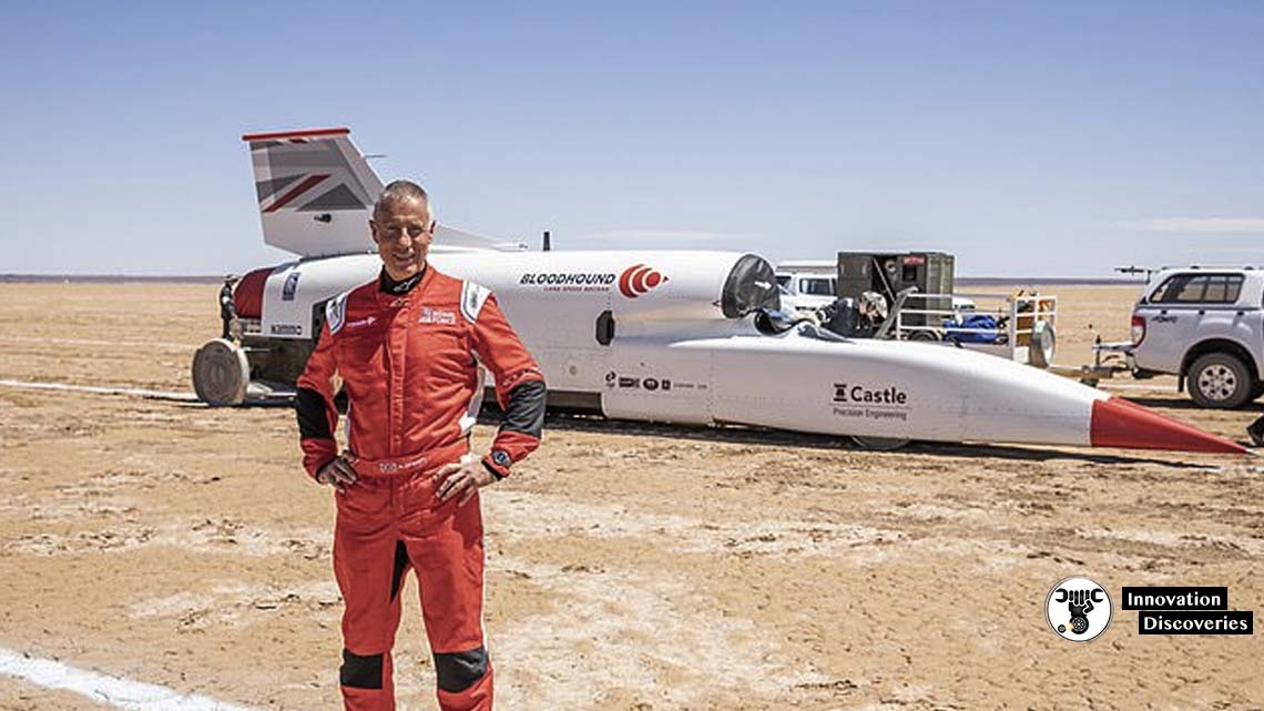 Bloodhound LSR Supersonic Car Has Set A New Land Speed Record