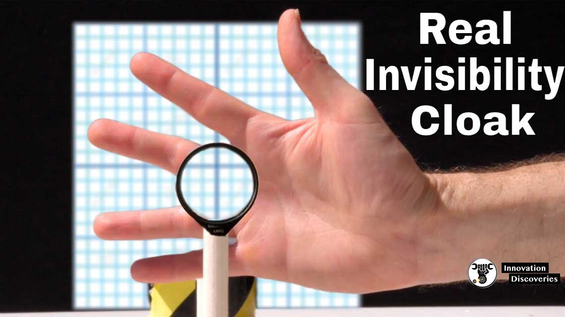 New Light-Bending Material Can Be Used To Create An Invisibility Cloak