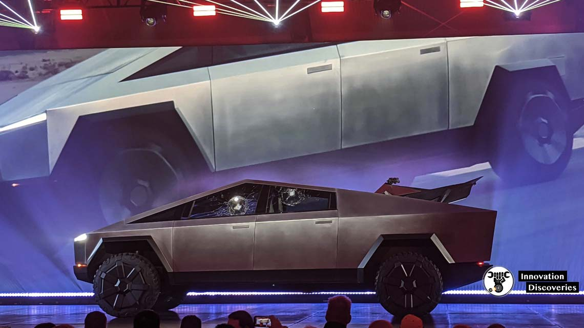 Elon Musk Unveils The New Tesla CyberTruck With A Failed Demo Of Shatterproof Windows
