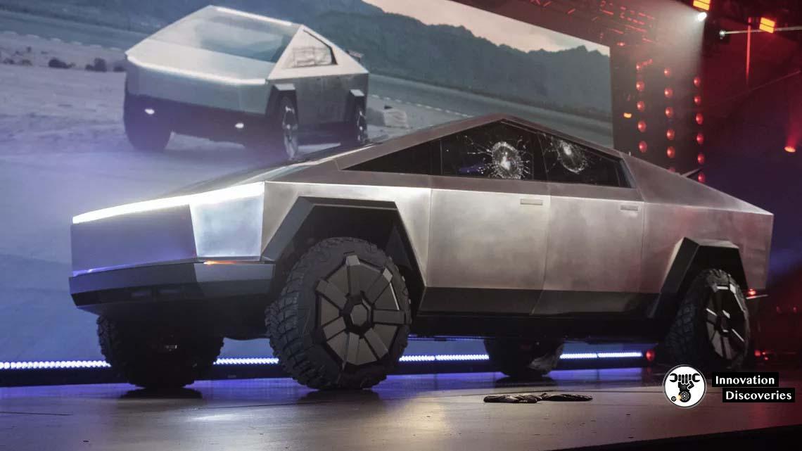 Elon Musk Unveils The New Tesla CyberTruck With A Failed Demo Of Shatterproof Windows