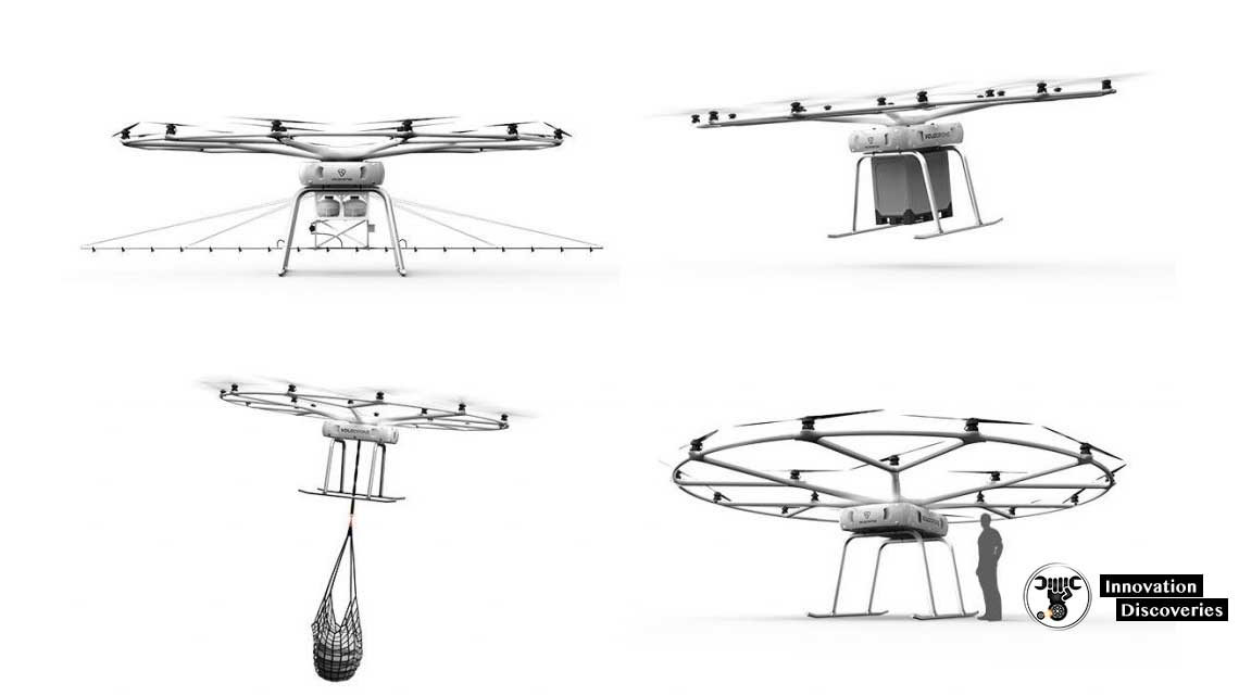 Volocopters New VoloDrone
