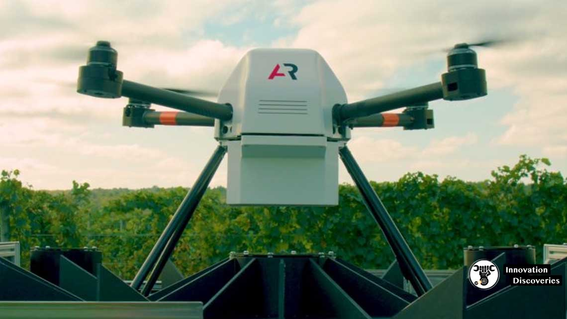This Drone Lives In a Shed Near A Farm And Visits The Fields On Its Own