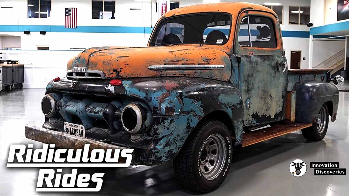 1952 Ford Pickup Truck That Drives BACKWARDS