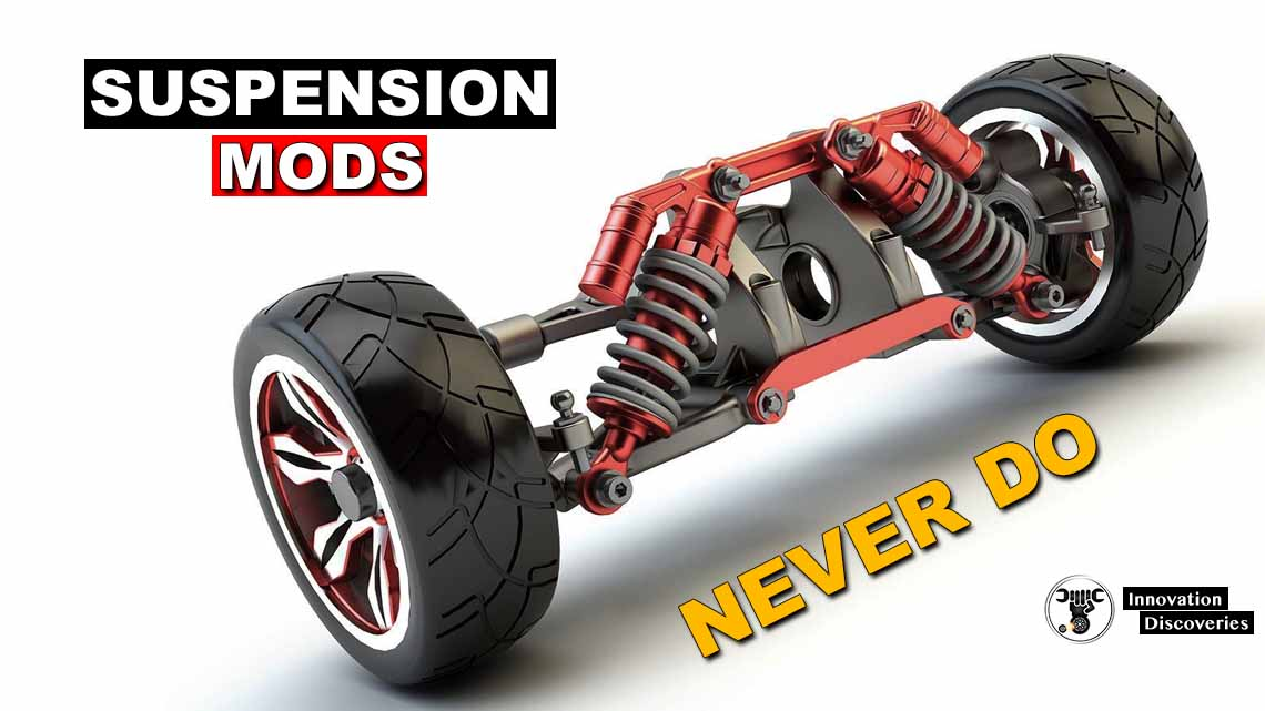 5 Suspension Mods You Should NEVER Do To Your Car