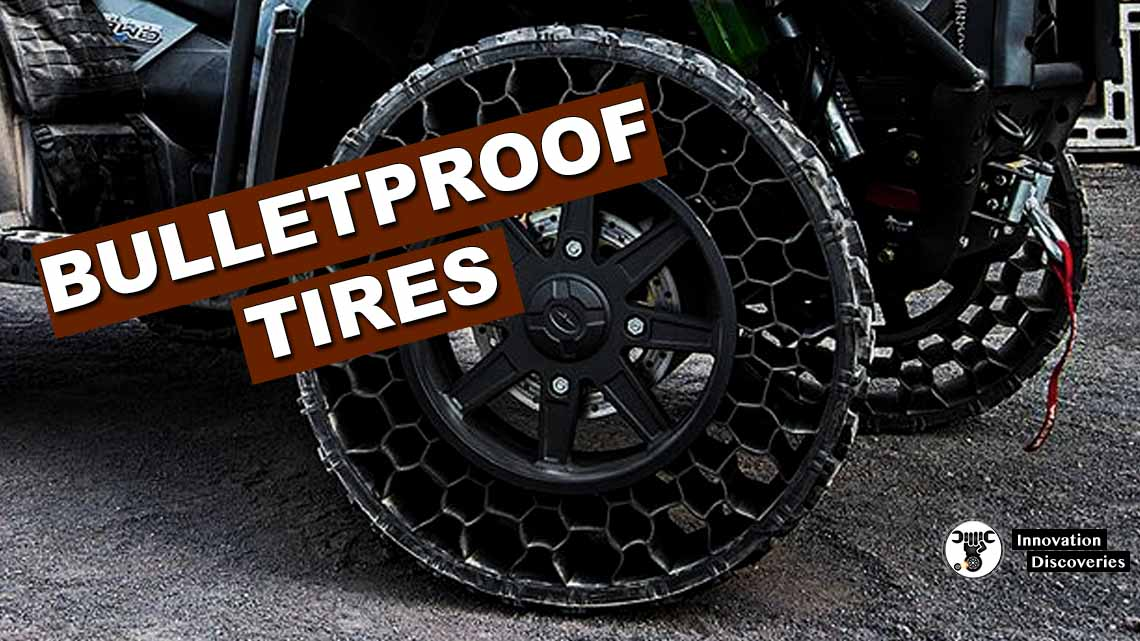 How Are Bulletproof Tires Manufactured?