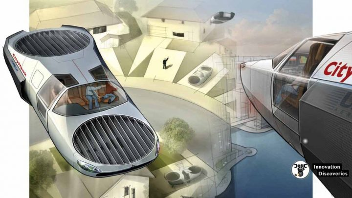 CityHawk Might Be The Flying Car That You Have Been Waiting For