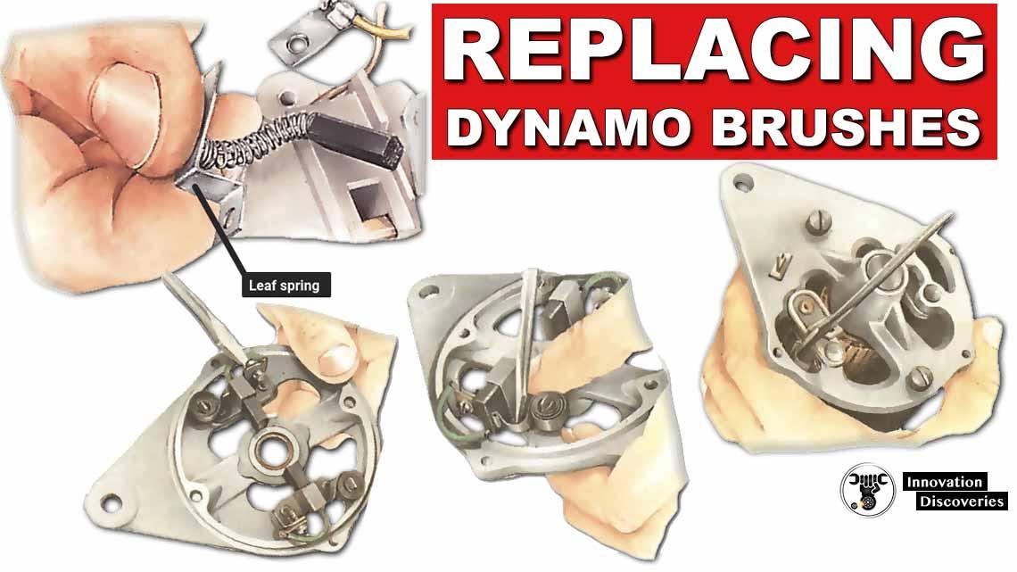 Replacing dynamo brushes