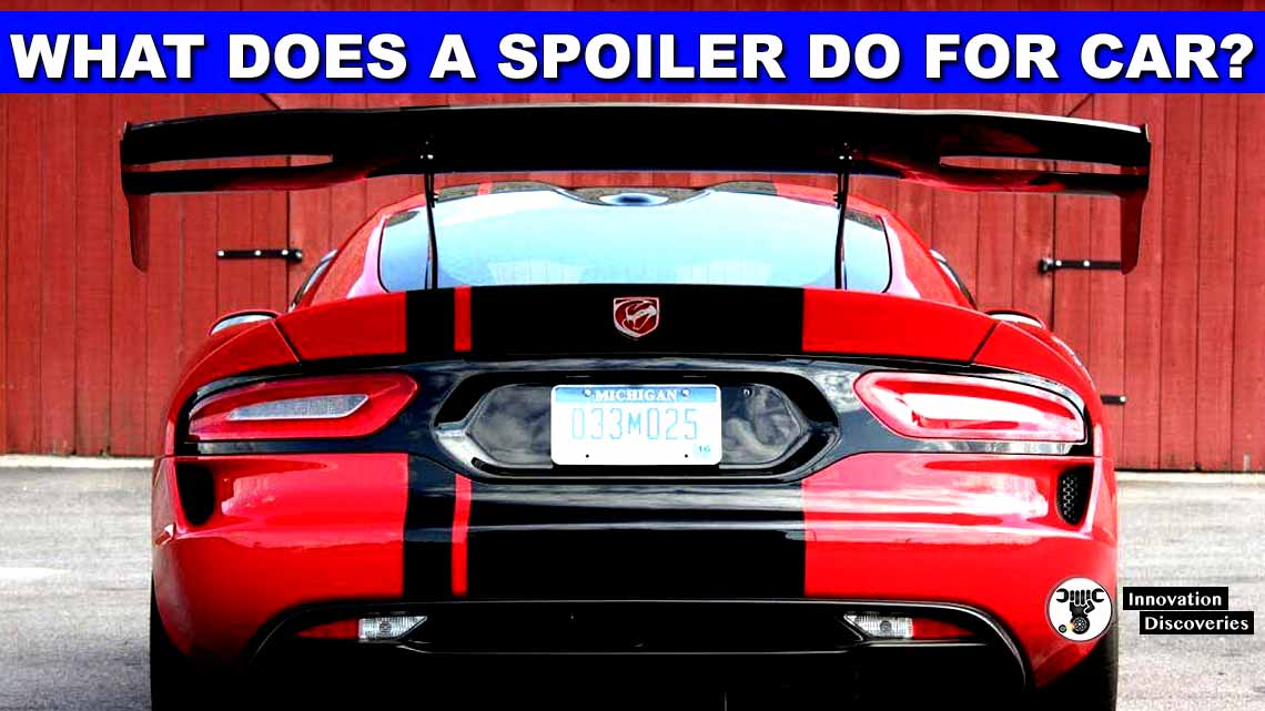 What Does A Spoiler Do For A Car? The Details