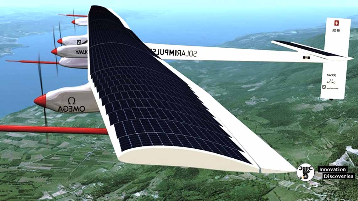 What Is A Solar Powered Airplane?