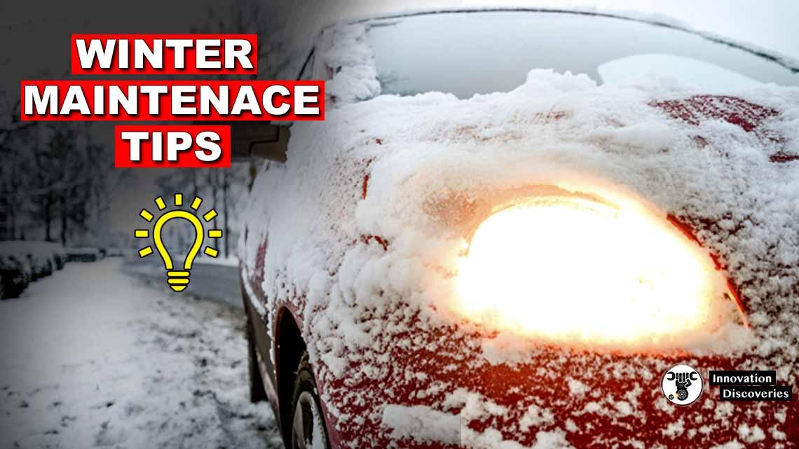 Winter Maintenance Tips For Expert Drivers