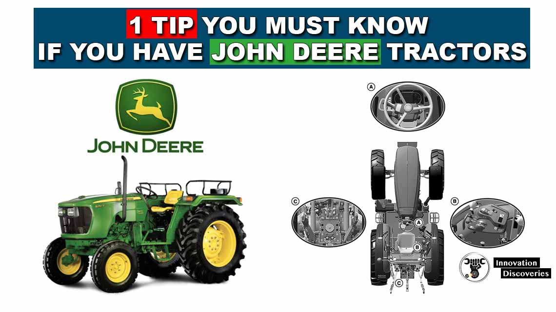 1 Tip you must know if you have john deere tractors