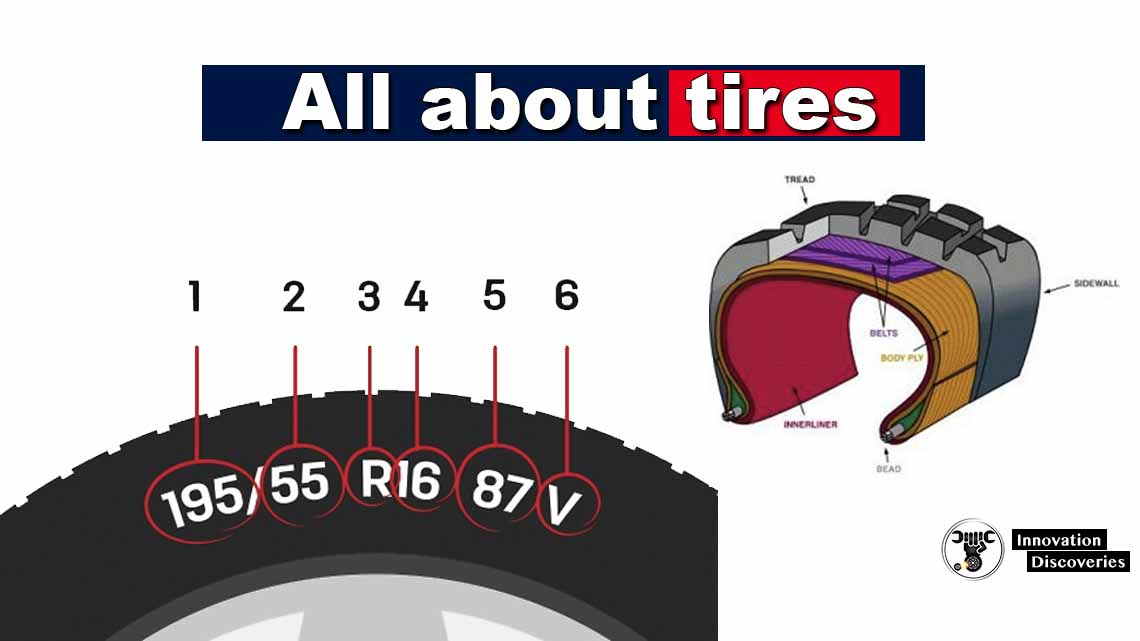 All about tires, what is the meaning of numbers on the Tyre? What is inside the Tyre?