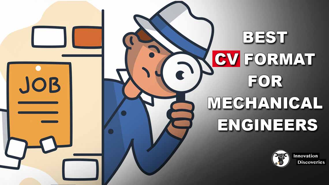 BEST CV FORMAT FOR MECHANICAL ENGINEERS