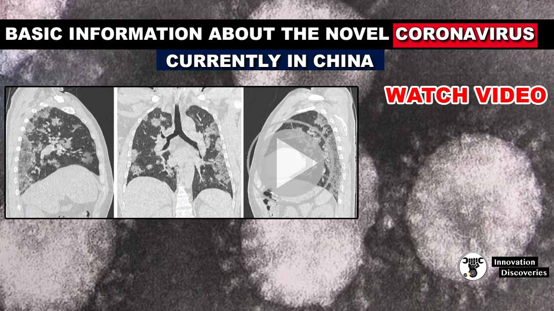 Basic information about the novel Coronavirus, currently in China.
