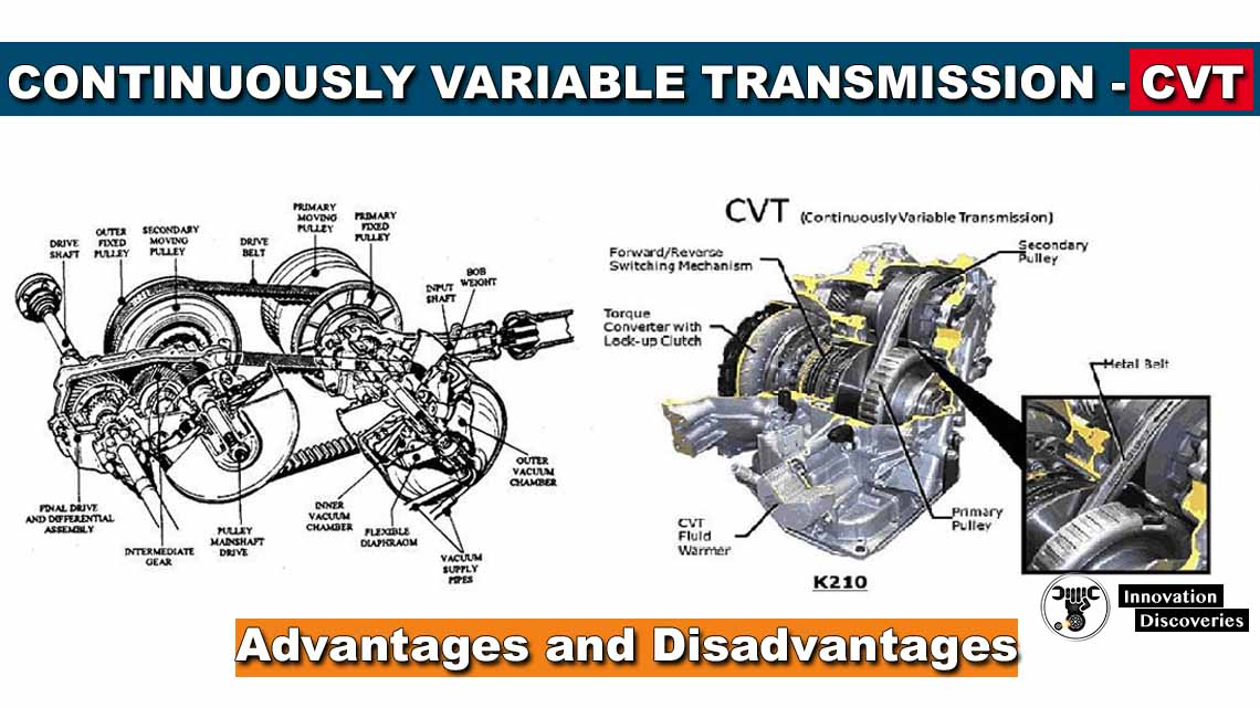 Continuously Variable Transmission : Advantages and Disadvantages