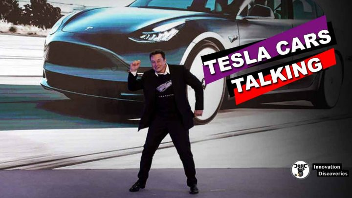 Elon Musk Shares Video Of Tesla Cars Talking