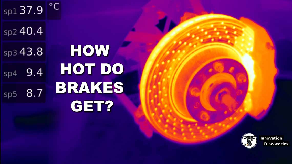 Here's Exactly How Hot Your Brakes Get When You Pull the Handbrake