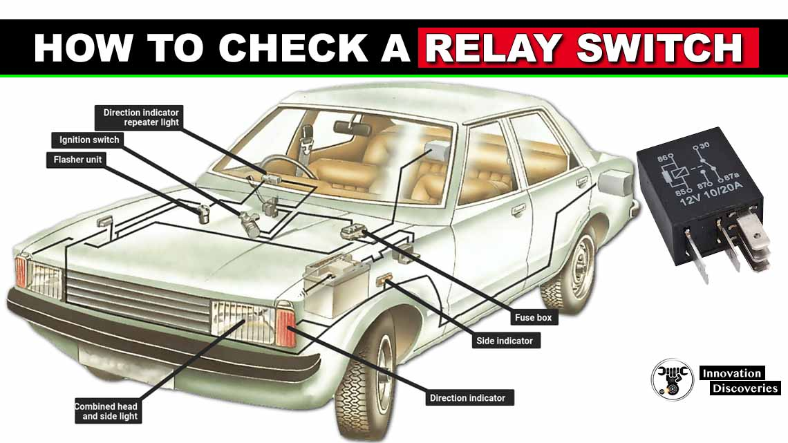 How to check a relay switch