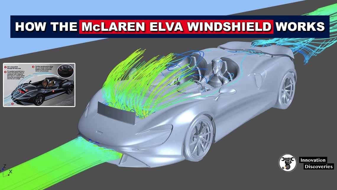 How the McLaren Elva Invisible Windshield Works