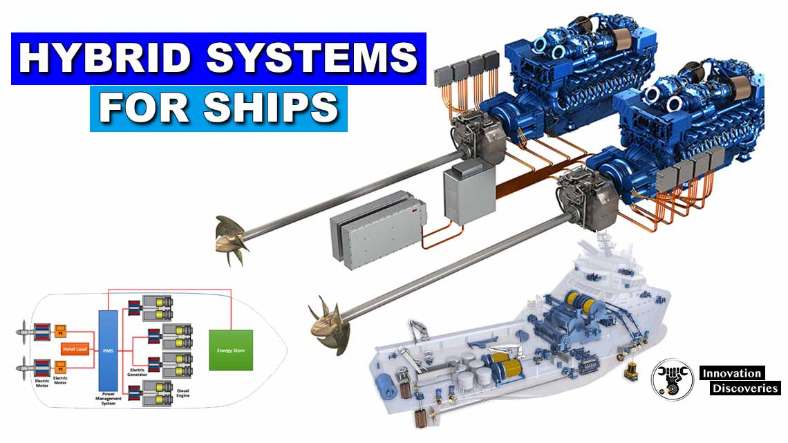 Hybrid systems for ships – Rolls-Royce