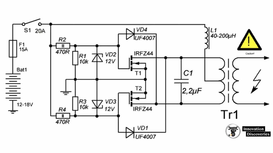 How to build an induction heater and how does it work?