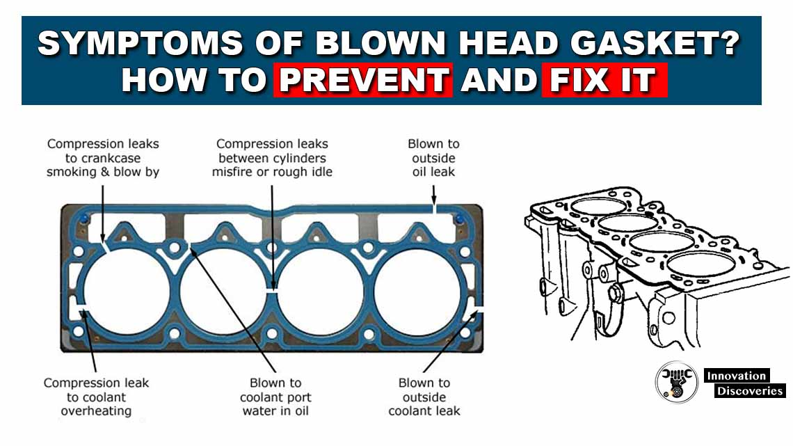 Symptoms Of A Blown Head Gasket? How To Prevent And Fix It