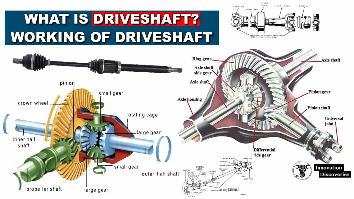 What Is Driveshaft? Working Of Driveshaft