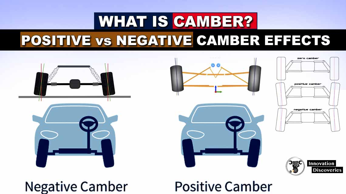 What is Camber? (Positive vs Negative Camber Effects)