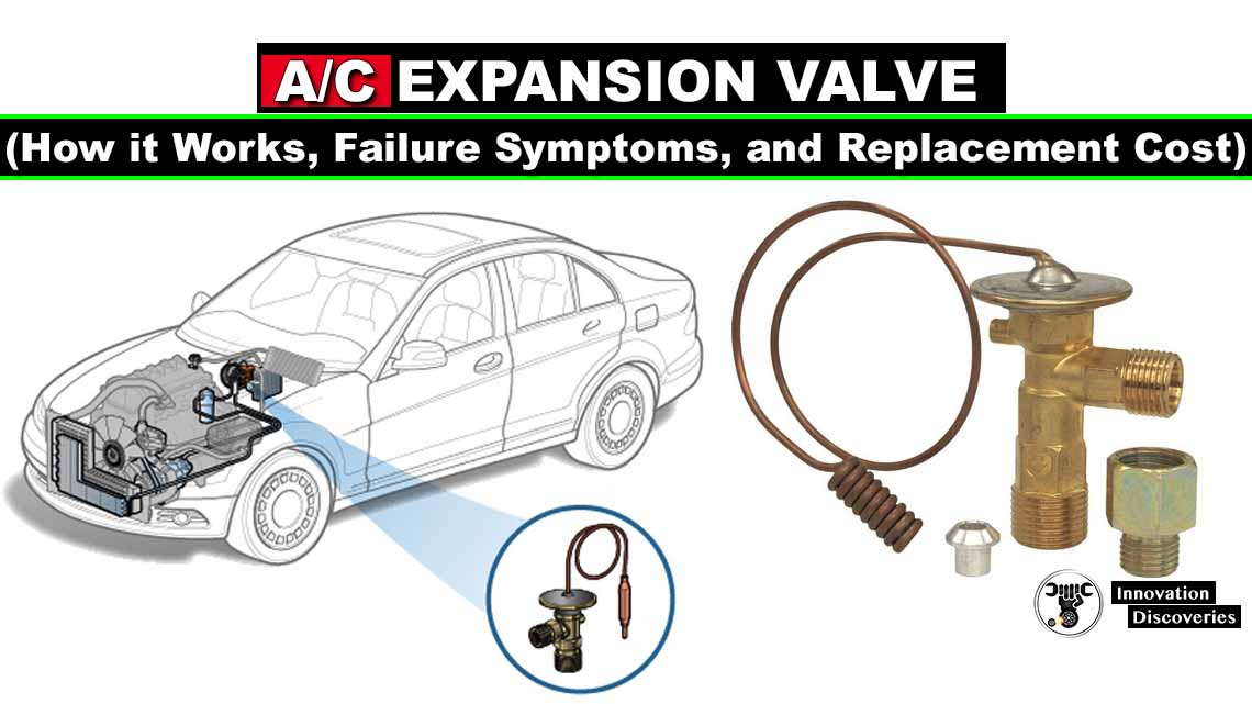 A/C Expansion Valve (How it Works, Failure Symptoms, and Replacement Cost)