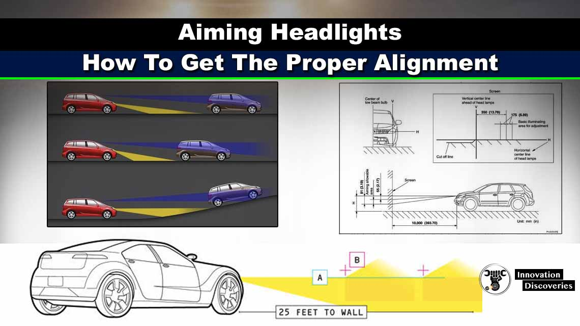 Aiming Headlights: How To Get The Proper Alignment
